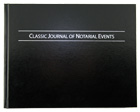 Classic Journal of Notarial Events - Hard Cover