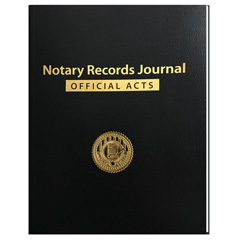 Notary Records Journal - Hard Cover