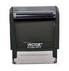 Vector Model 4913 Wisconsin Notary Stamp